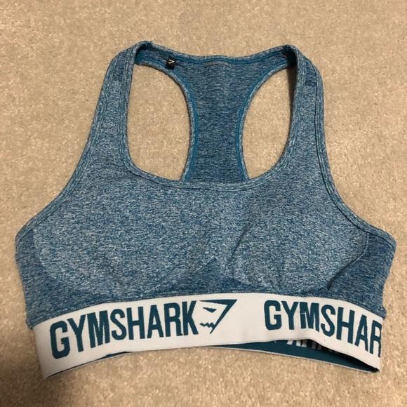 Gymshark Teal Flex Sports Bra